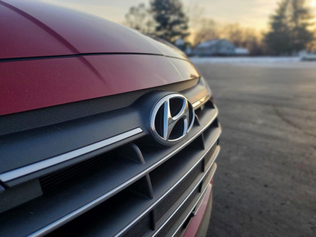 2020 Hyundai Elantra Badge