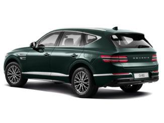 2021 Genesis GV80 Green Driver Rear