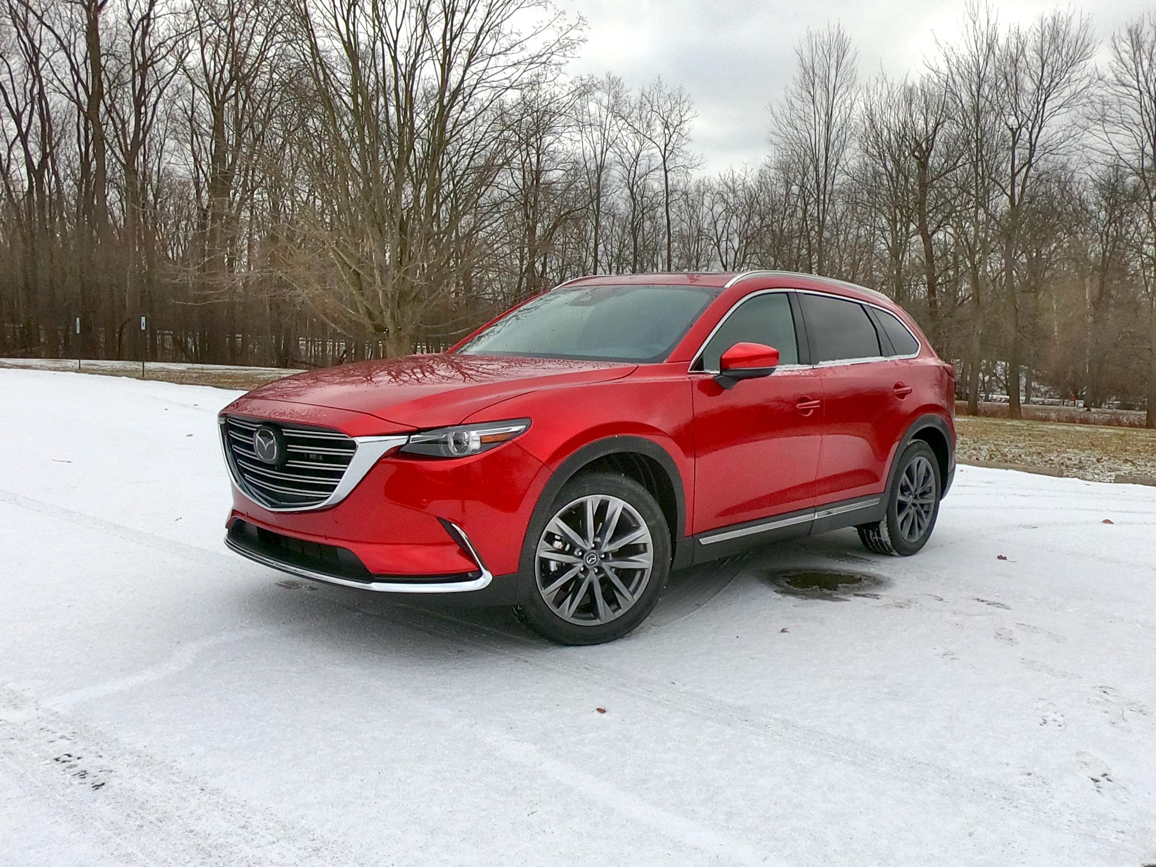 2020 Mazda CX-9 Signature Red Driver Front