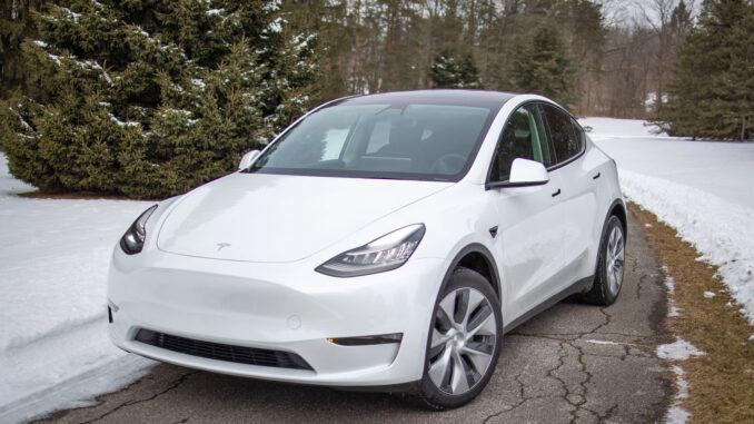 2021 Tesla Model Y Standard Range Winter